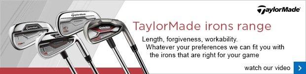 TaylorMade iron range
