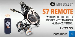Motocaddy S7 Remote electric trolley