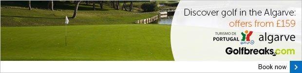 Algarve golf breaks from £159