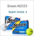 Srixon AD333 golf balls - 2015
