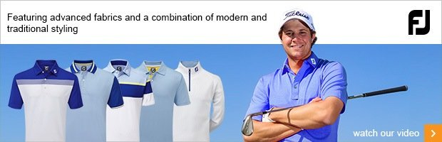 FootJoy Summer Apparel 2016