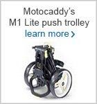 Motocaddy M1 Lite push trolley