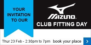 Mizuno fitting day