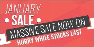 January Sale 2017