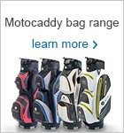 Motocaddy bag range