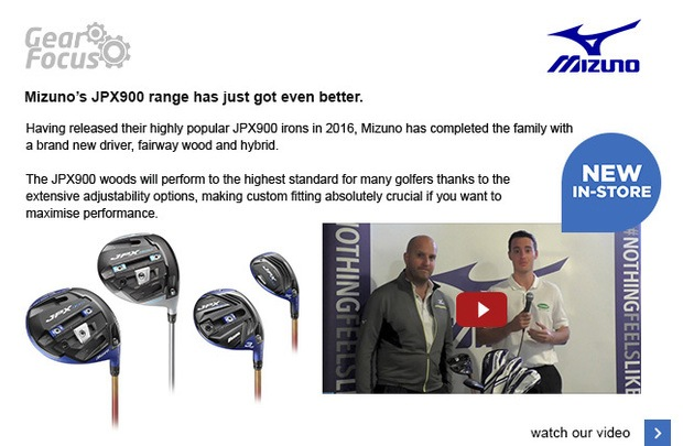 Mizuno's JPX900 range has just got even better